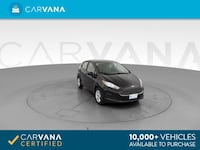 2018 *Ford* *Fiesta* SE Hatchback 4D hatchback Black Downey