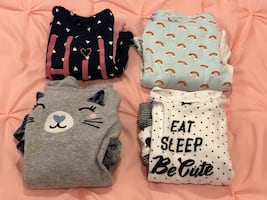 Girls 2 piece sets - Sizes 18-24 months - fit an 18-month old