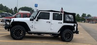 Jeep Wrangler Unlimited OEM Soft Top Rock Falls