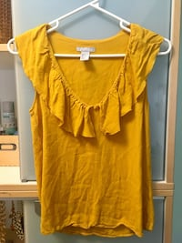 H&M yellow top