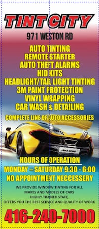 AUTO TINTING SPECIAL