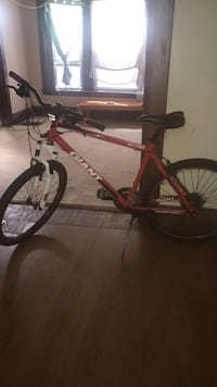red and black hardtail mountain bike Grand Rapids, 49507