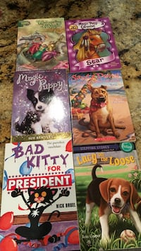 5 various books Denison, 75020