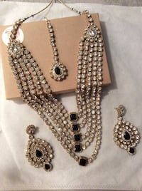 4Piece Jewelry Set with sparkling stones!  HandCrafted! Richmond, V6X