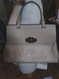 white leather 2-way handbag Vancouver, V6A 4G8