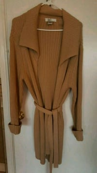 brown long-sleeved cardigan Albuquerque