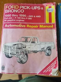 Ford Pick-ups Bronco book 787 mi