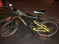 ccm 21 speed adult mountain bike with disc brakes duel shocks