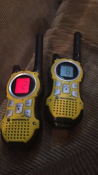 Motorola two way radios.