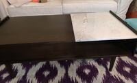 West elm extension coffee table