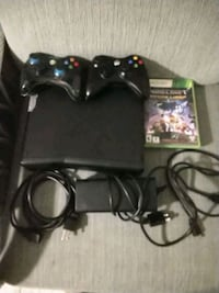 black Xbox 360 console with controller Panama City Beach, 32407