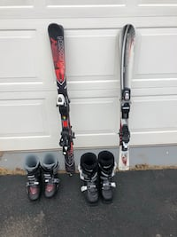 Youth Skis and boots Rockville, 20852