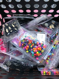 Multi Colored Beads for Girls .10 per pack  Rockville, 20850