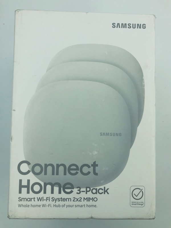 Samsung Connect Home 3 pack with Smartthings