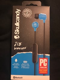 Skullcandy JIB Wireless Bluetooth Earphones With Mic Blue Headphones Hyattsville, 20783