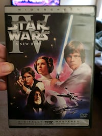Star Wars IV, A New Hope DVD Redford Charter Township, 48239