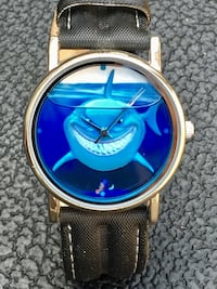 Disneyland Resorts Cast Exclusive Limited Edition 500 Pixar Finding Nemo Bruce the Shark Wristwatch Like New Never Worn Long Beach, 90805