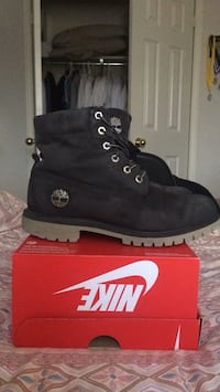 Black Timberland Winter Boots Vaughan, L4J 8M2