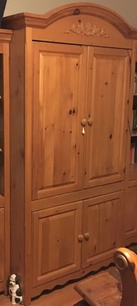 brown wooden wardrobe armoire Providence, 02903