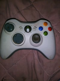 white Xbox 360 wireless controller Albuquerque