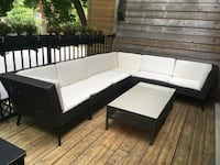 white and black sectional couch Toronto, M2M
