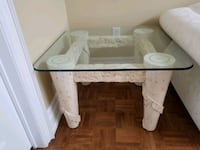 Solid marble and glass coffee and end table  Richmond Hill, L4E 3Y8