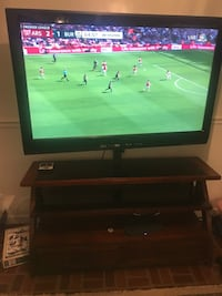 """48"""" tv with entertainment stand Reston, 20191"""