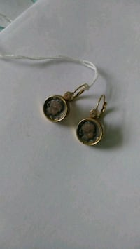 Vintage Cameo Anne Klein Earrings Foley