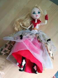 girl doll in pink dress Montreal, H1B 5N9