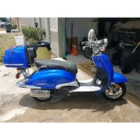 blue and black motor scooter Kissimmee, 34759