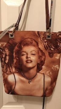 Gorgeous!!!! signed Marilyn Monroe Purse