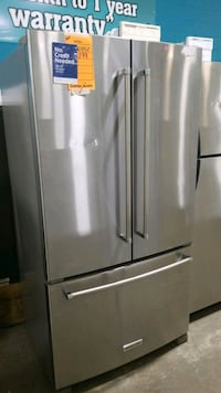 Kitchenaid French doors refrigerator 36x70.  Hauppauge