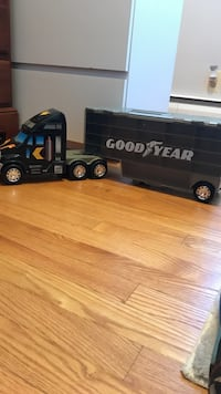 Black goodyear racing team truck toy Damascus, 20872