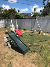 Kits swing set and slide  San Diego, 92107