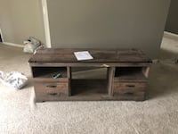 black and brown wooden TV stand Windsor, N9A