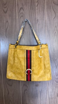 4640b3c68de5 Used AUTHENTIC GUCCI BLACK CANVAS AND LEATHER MONOGRAM G TOTE ...
