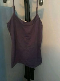 black scoop-neck spaghetti strap top Windsor, N8W 5S4