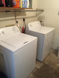 Washer dryer 500 used bicycle 45 Riding lawn more 700 cherry wood glass and tables to $50 coffee table wooden end table matching $40 Paulina, 70763