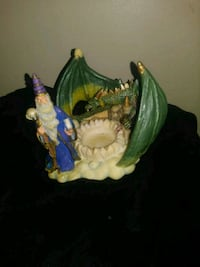 Dragon & Wizard candle holder Middletown, 10940