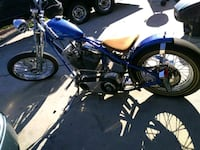 blue and black cruiser motorcycle Prescott Valley, 86314
