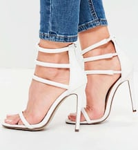 White Four Strap Heels Vaughan, L6A 0B4