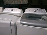 white washer and dryer set Indianapolis, 46254