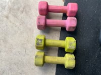 Pair 5lb dumbbells