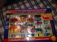 40 pieces of toy car