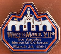 WWE Wrestlemania Pin Des Moines, 50313