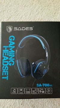 SADES 708GT Gaming Headset (accesories included) Falls Church
