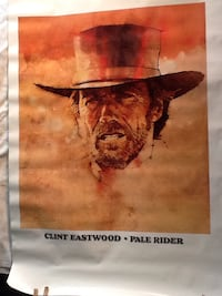 CLINT EASTWOOD -MOVIE POSTER -PALE RIDER Monroe, 10950