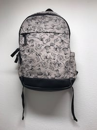 Gray and black floral backpack Anchorage, 99504
