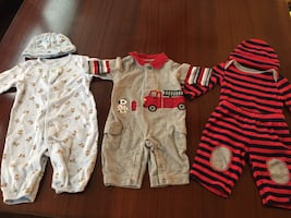 3 outfits - 0-3 months Baby boy outfits