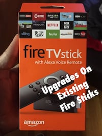 Amazon Fire stick (Upgrade) Washington